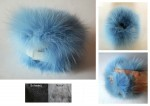 Short Fur Tube - Blaufuchs / Rotfuchs
