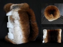 Fur Tube - Lang - Rex Kanin - Castor - Masturbator - Genuine Rex Rabbit Fur Sex Toy - Furotic